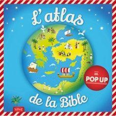 L'atlas de la Bible en pop-up