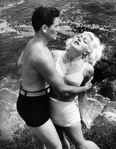 Lana Turner and John Garfield in The Postman Always Rings Twice (1946)