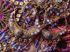 exotic chandelier earrings