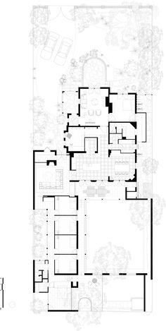 Belmont House in Kew by Kennedy Nolan Australian Architecture, Architecture Plan, Kennedy Nolan, Belmont House, Victorian Terrace, Kids Zone, Indoor Outdoor, Swimming Pools, House Plans