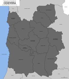 Freguesias do concelho de Odemira