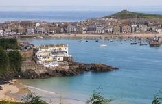 St Ives Harbour View - Cornwall Guide Photos