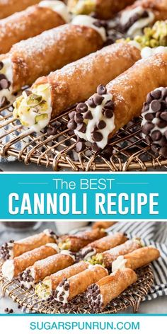 Learn how to make flawless Cannoli completely from scratch! My recipe yields perfect, thin, crispy shells and a rich and creamy filling. I'll walk you through all of my tips and tricks so yours turn out perfectly at home, the recipe also includes a how-to video! My Recipes, Italian Recipes, Baking Recipes, Easy Desserts, Dessert Recipes, Cannoli Recipe, Dessert Bars, Hot Dog Buns, Desert Recipes