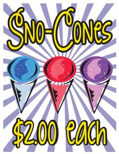 Elementary School Spring Carnival Sign Ideas & Printables - Printable Posters / Banners / Signs