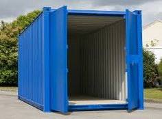 To ensure security of your belongings, make sure to check the door hinges and locking bar handles properly before buying a used shipping container. Storage Containers For Sale, Storage Design, Storage Ideas, Mobile Storage, Door Hinges, Decorative Storage, Shed, Outdoor Structures, Outdoor Decor