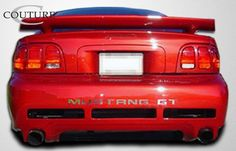 1994-1998 Ford Mustang Couture Colt 2 Rear Bumper Cover - 1 Piece