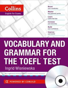 Free Books Vocabulary and Grammar for the TOEFL Test (Collins English for the TOEFL Test) by Ingrid Wisniewska Author : Ingrid Wisniewska Confidence Building, What To Read, Book Photography, Free Books, English Language, Nonfiction, Grammar, Books To Read, Author
