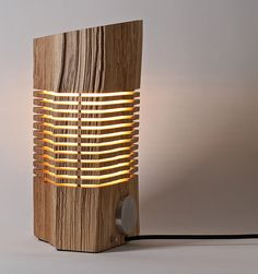 Light Sculpture Reclaimed Wood Art by SplitGrain on Etsy