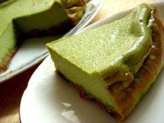 和風 抹茶チーズケーキの画像