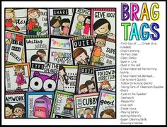 Brag Tags {Back to S