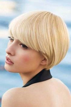 2013 Short Cuts For Thick Hair 3