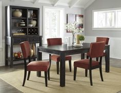 Gavelston 7pc Dining Room Table Set – Outfit My Home