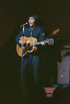 Elvis Presley International Hotel, Las Vegas, NV - August 1969.