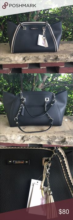 Jessica Simpson Winnie tote New black Jessica Simpson purse Jessica Simpson Bags Shoulder Bags