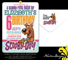 scooby doo birthday invitations | Nealon Design: Scooby-Doo BIRTHDAY