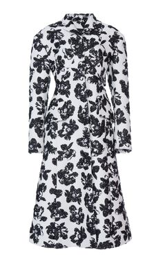 Printed Bustier Coat by PROENZA SCHOULER for Preorder on Moda Operandi