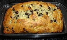 Banana Chocolate Chip Loaf - made this yesterday. Glad I read the reviews first - I used a few more bananas than the recipe called for and it was delicious!