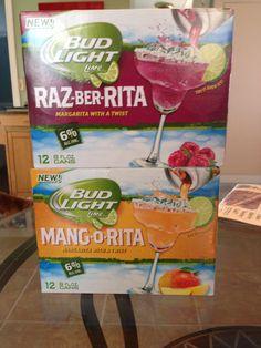 What?!?  Razz-ber-Rita and Mang-o-Rita