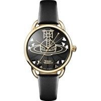 Vivienne Westwood Leadenhall Quarzuhr gold/schwarz Vivienne WestwoodVivienne Westwood Best Picture For Women Jewelry model For Your Taste You are looking for something, and it is going to tell you exa Vivienne Westwood Watches, Vivienne Westwood Jewellery, Simple Jewelry, Dainty Jewelry, Jewelry Illustration, Jewelry Model, Gold Watch, Watch 2, Black Leather