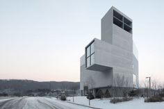 Nameless Architecture, RW Concrete Church, Byeollae, South Korea