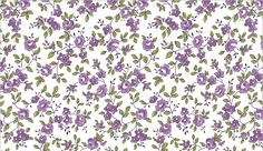 tricoline floral patchwork