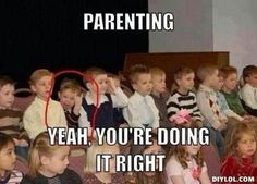 this will be my son. he does that all the time