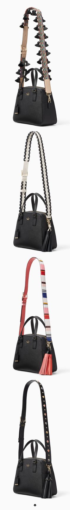 it's like a jewelry change for your bag. shop straps and tassels from kate spade new york