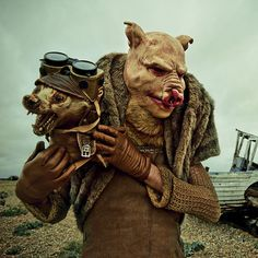Mothmeister taxidermy portraits ~ marvellously macabre!