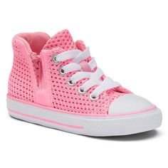 682333b2c4d4 Toddler Girls  Converse Chuck Taylor All Star Sport Zip High-Top Sneakers
