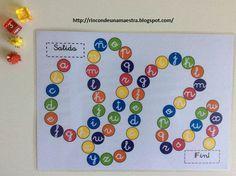 Rincón de una maestra: El juego del abecedario