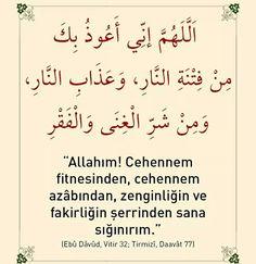 #cehennem #fitne #azap #zengin #fakir #şer #sana #sığınırım #Allahım #dua #amin #ilmisuffa