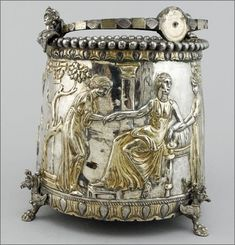 The Sevso Treasure.One of the most spectacular late Roman treasures
