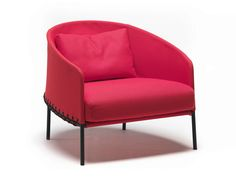 FABRIC GARDEN ARMCHAIR PONCHO BY LIVING DIVANI | DESIGN LUCIDIPEVERE