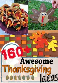 160+ Awesome Thanksgiving Ideas from The Realistic Mama