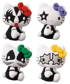 Medicom Toy convierte a Hello Kitty en los personajes de Kiss en su nueva colección!