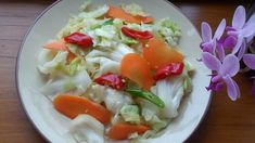 Taiwanese pickled cabbage 台灣泡菜 savoury accompaniment or starter