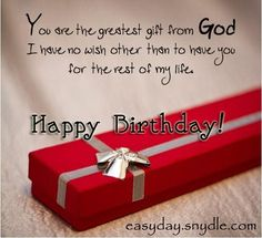 Best collection of happy birthday quotes for Husband. Funny & romantic birthday quotes for husband from wife. Best birthday wishes quotes for hubby with images. Birthday Quotes For Love, Romantic Birthday Wishes, Happy Birthday Wishes Quotes, Birthday Wishes And Images, Birthday Wishes For Boyfriend, Happy Birthday My Love, Birthday Greetings, Birthday Ideas, Birthday Messages
