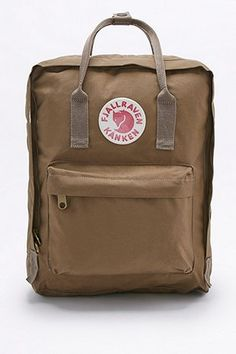 SHOP AW16 // Fjallraven Kanken Classic, Urban Outiftters. These are so popular for a reason, and the best backpack you'll ever own. They're small, but fit so much in and have pockets and handles exactly where you need them.