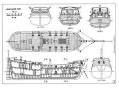 Чертежи парусных кораблей [3] (1/100) [Форумы Balancer.Ru]