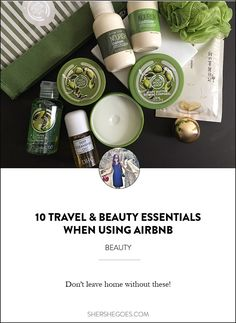 10 must have travel and beauty essentials to bring on your next airbnb stay