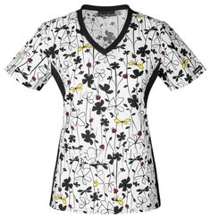 """Sometimes you just have to """"Grow With It"""" - this top says just that! Find this Cherokee scrub top at The Uniform Outlet!"""
