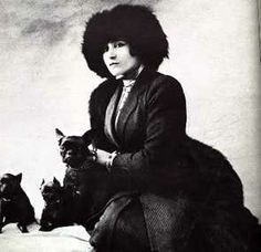 #Colette w her French Bulldogs inventor of #gigionbroadway