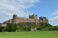 Bamburgh castle. Northumberland.