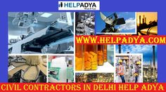 Find Civil Contractors in DelhiHelpAdya  LookingforCivilContractors in Delhiyou've reached the right place. Help Adya is the best classifiedsite for becming popular viaFree Ads.With thehelpofclassifiedsites you can promote your new brand easily.HelpAdyais an free online platform where you can place your free ads including wide range of categories such as Real Estate, Car & bikes, Electronic Equipments, furniture, jobs and much more. To know more aboutfree ad posting site in…