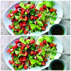 Seafood Salad With Strawberries...