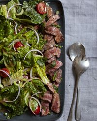 Flatiron Steak Salad with Thai Dressing Recipe on Food & Wine
