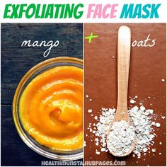 Scrub away the dead cells with a mango - oats face mask. Get ready to reveal beautiful, youthful skin!