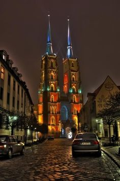Having visited the beautiful city of Wroclaw, Poland twice, I've had the pleasure of spending a bit of time exploring their Ostrow Tumski (Cathedral Island), in Places Around The World, The Places Youll Go, Travel Around The World, Cool Places To Visit, Around The Worlds, Visit Poland, Poland Travel, Belle Villa, Place Of Worship