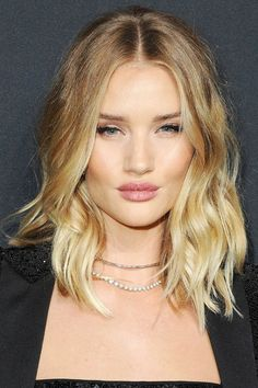 We rounded up Rosie Huntington-Whiteley's best hair looks. See them all here.