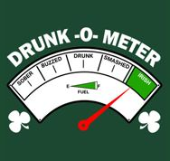 Drunk-O-Meter t shirt created by Trending Now Tees Company.